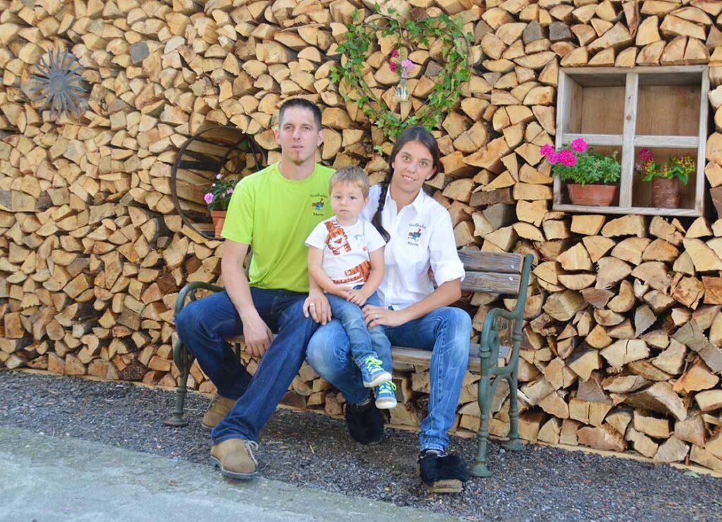 Franz und Simone mit Jakob